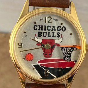 Vintage Chicago Bulks Team Watch